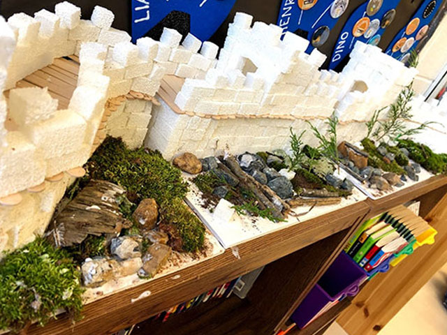 The Diener School Potomac Maryland Social Studies Discovery Program Model Castle