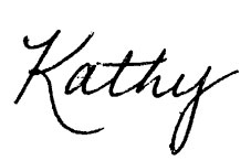 Kathy Chumas Head of the School Signature for the Welcome Email